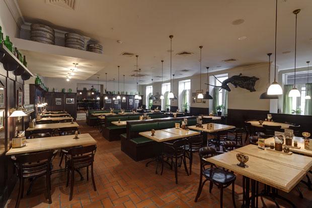 Фотография: Пивной ресторан Козловица. Чешская пивная