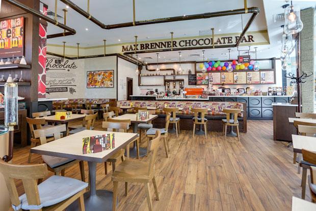 Фотография: Ресторан в торговом центре Max Brenner