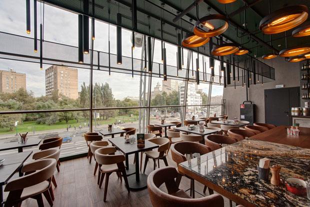 Фотография: Ресторан в торговом центре Craft Kitchen