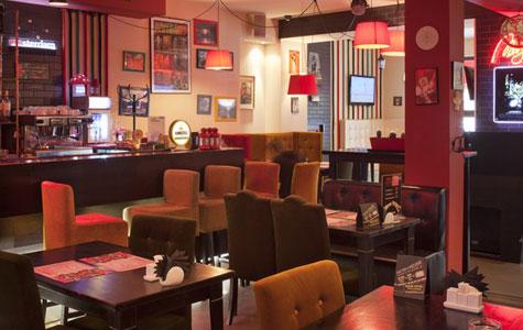 Фотография: Банкетный зал Amsterdam-cafe